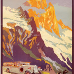 Affiche PLM, par Julien Lacaze, 1930